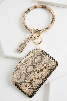 snake bangle keychain