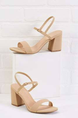 drive around the block heels