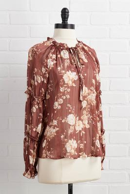 an autumn breeze top