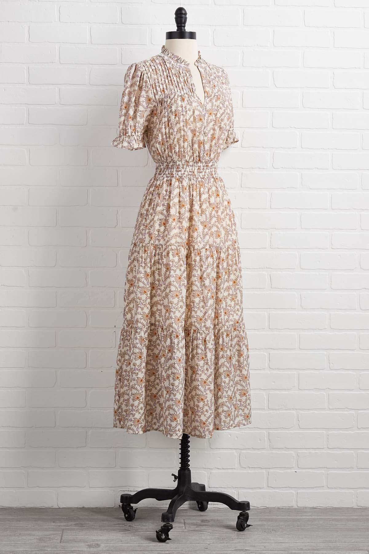 Last Summer Sunrise Dress