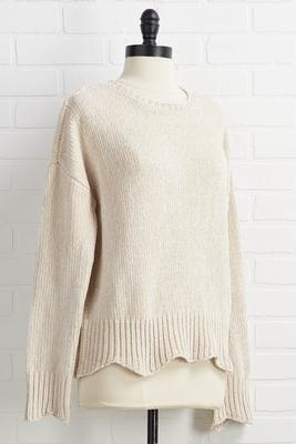 falling softly sweater