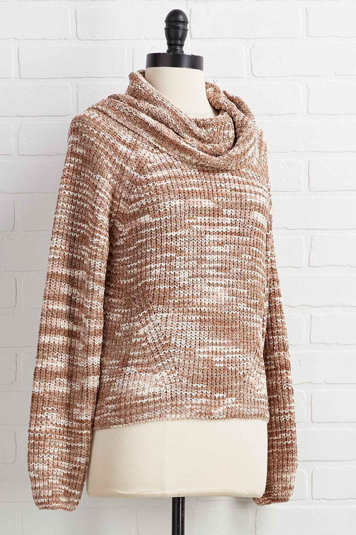 Hard Work Beige Off Sweater