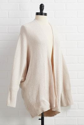 it`s cardi time sweater
