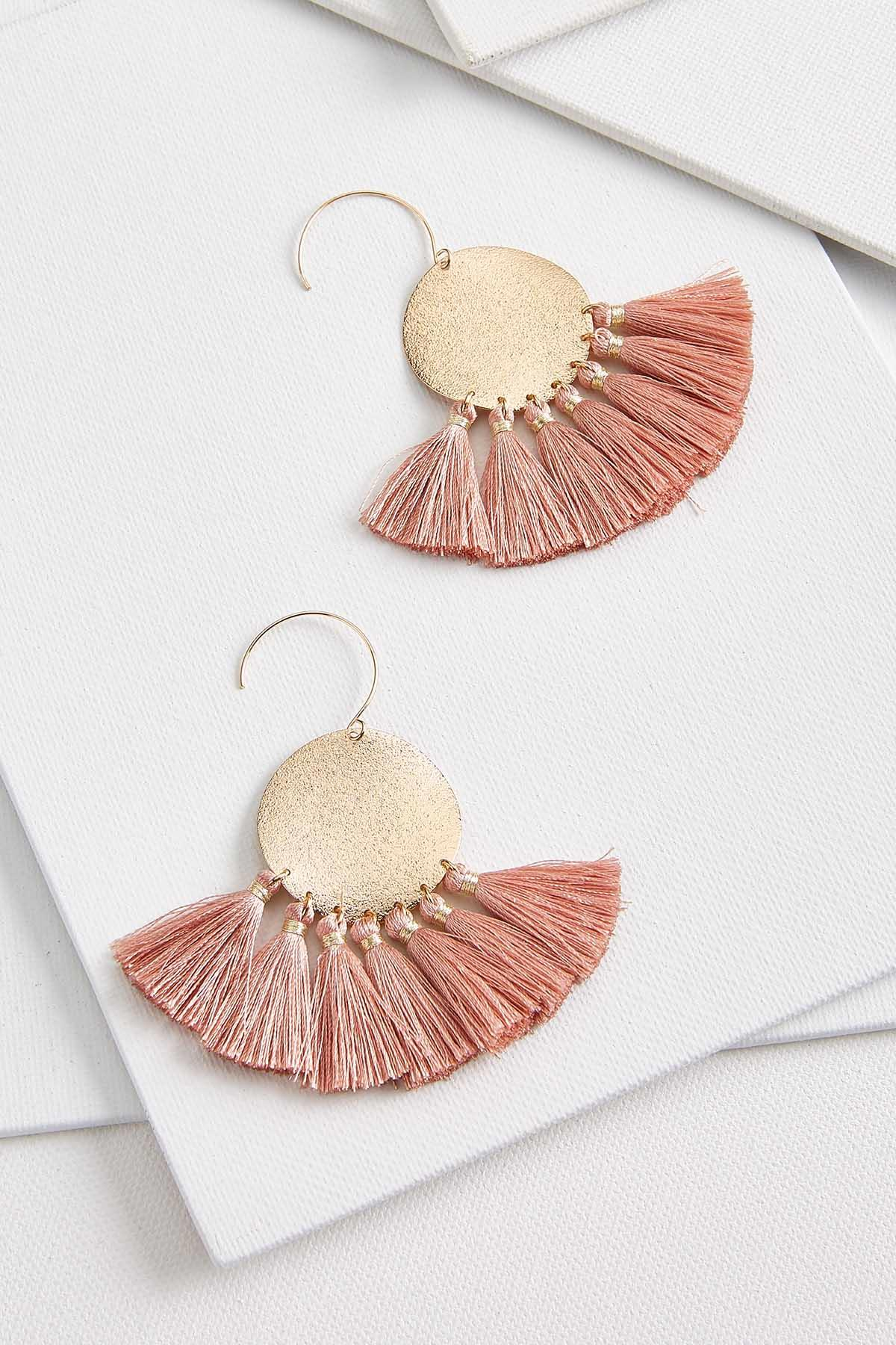 Fancy Fringe Earrings