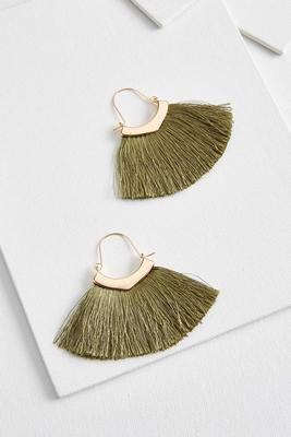small fringe earrings