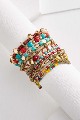 southwestern stretch bracelet set
