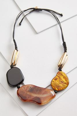 natural oversized necklace