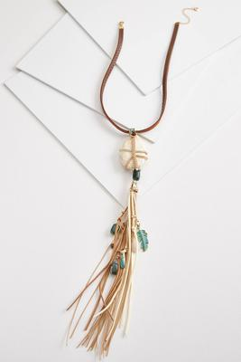 wild tassel necklace