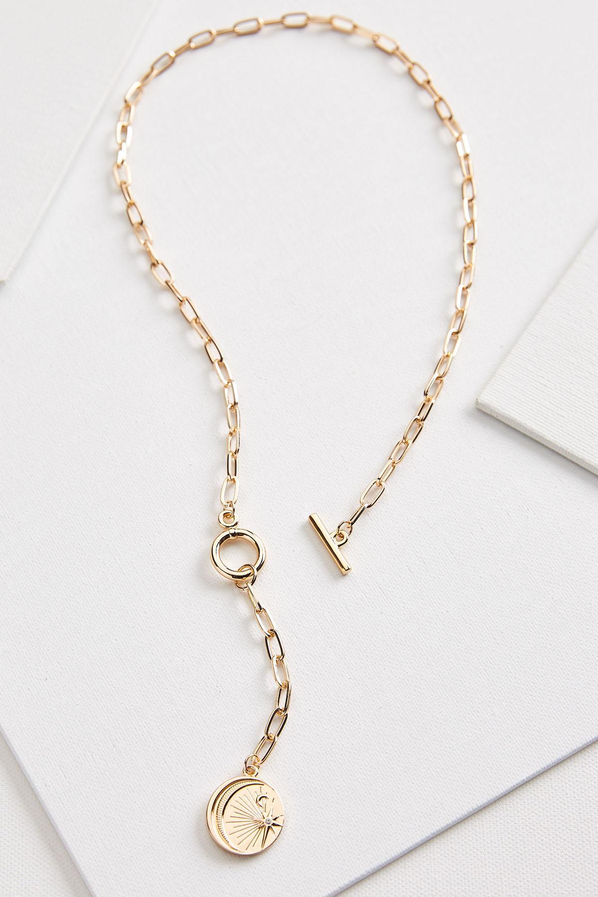 Metal Link Y- Necklace