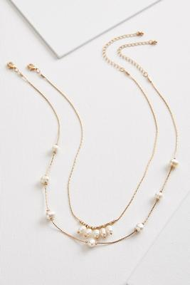 shaky layered necklace