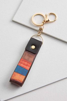 colorblock key fob