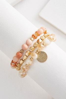 glitzy stretch bracelet set