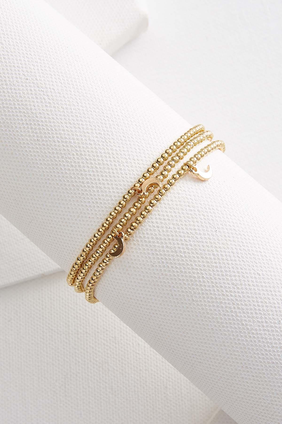 Moon Beaded Bracelet Set