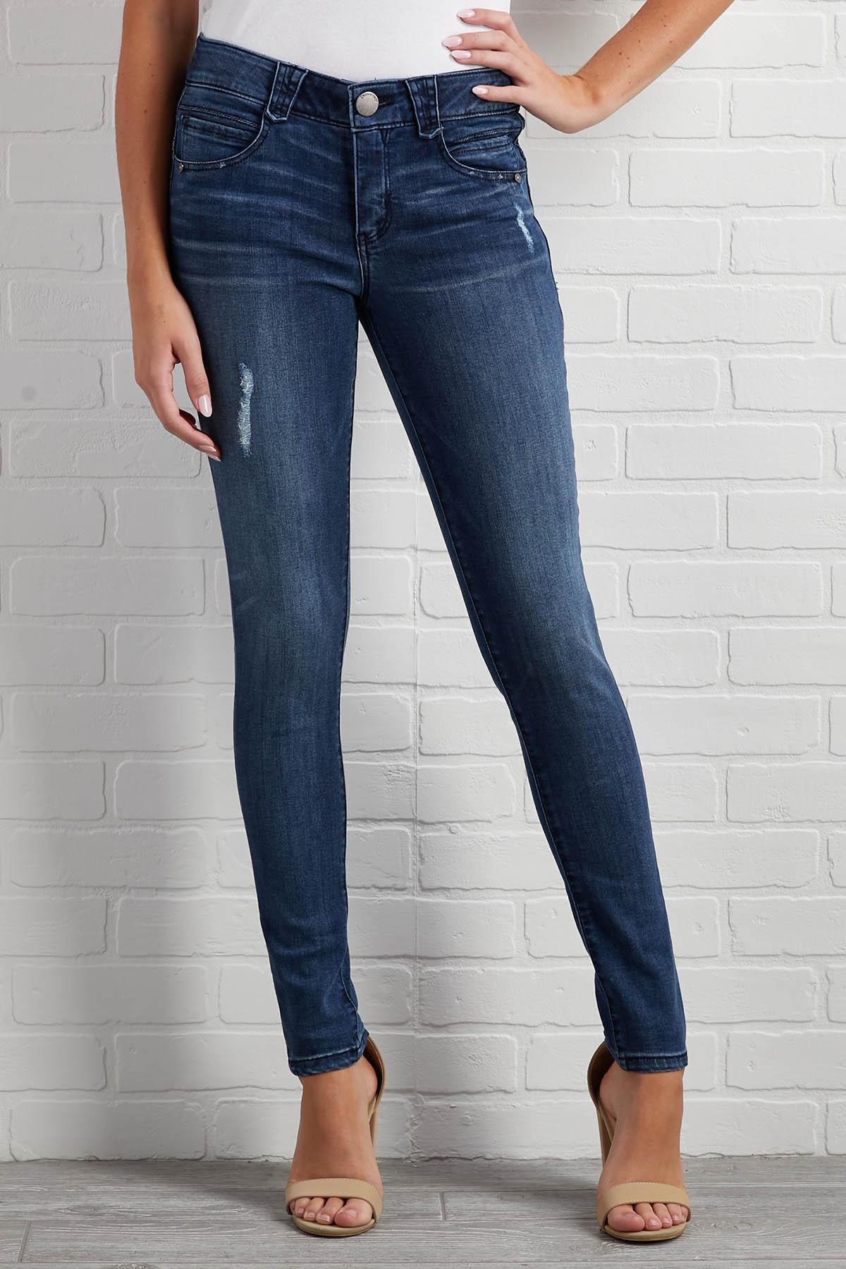 Something Subtle Distressed Jeans