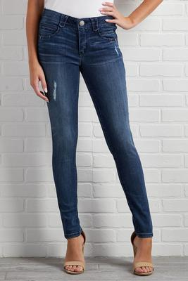something subtle distressed jeans