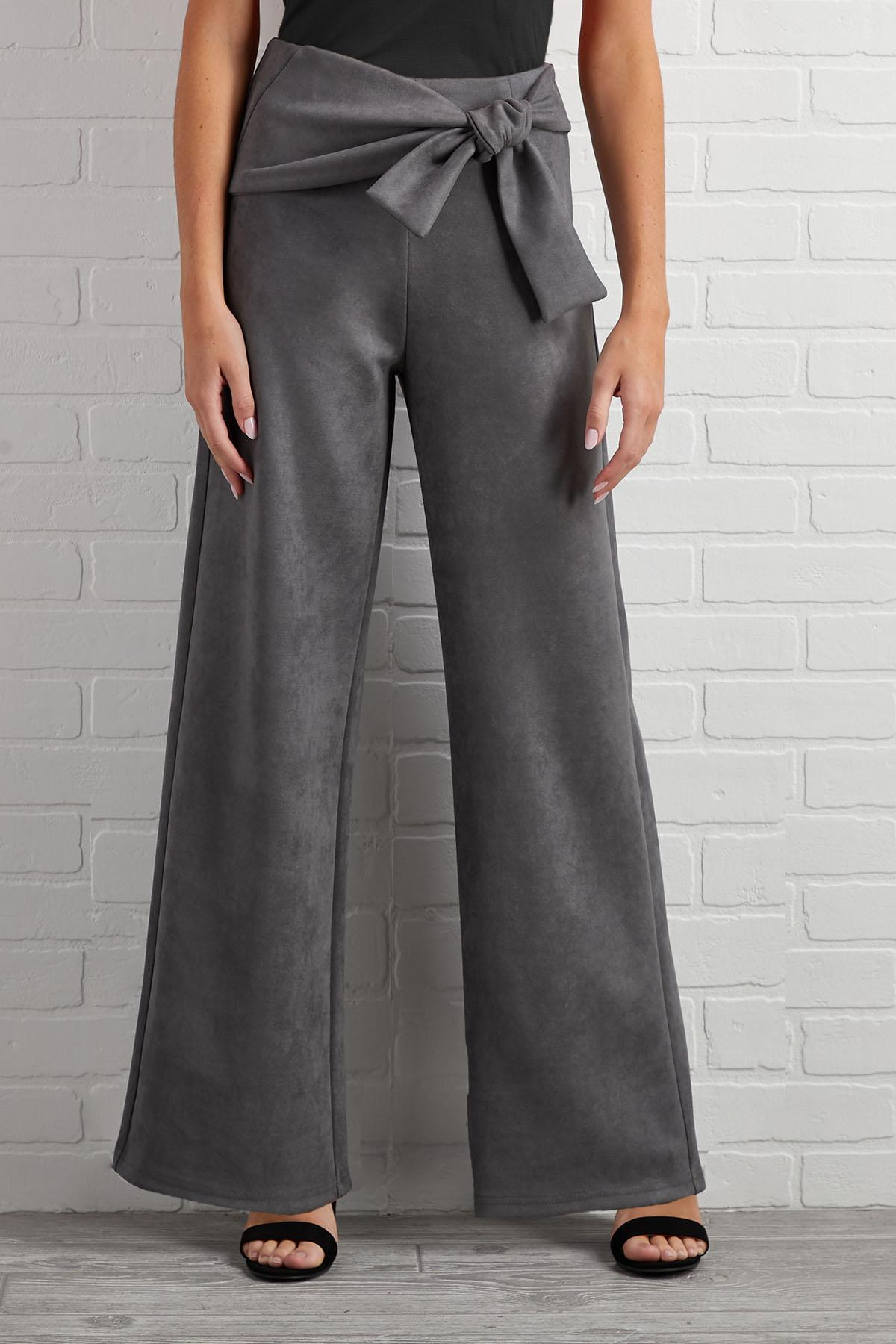 Suede For You Pants