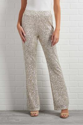 rise and shine sequin pants