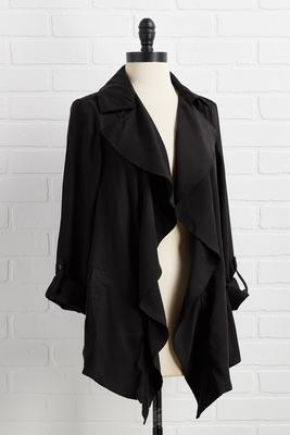 in love with the drape of you jacket