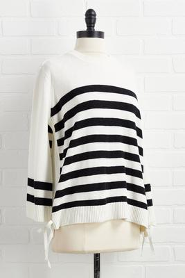 on the sidelines sweater