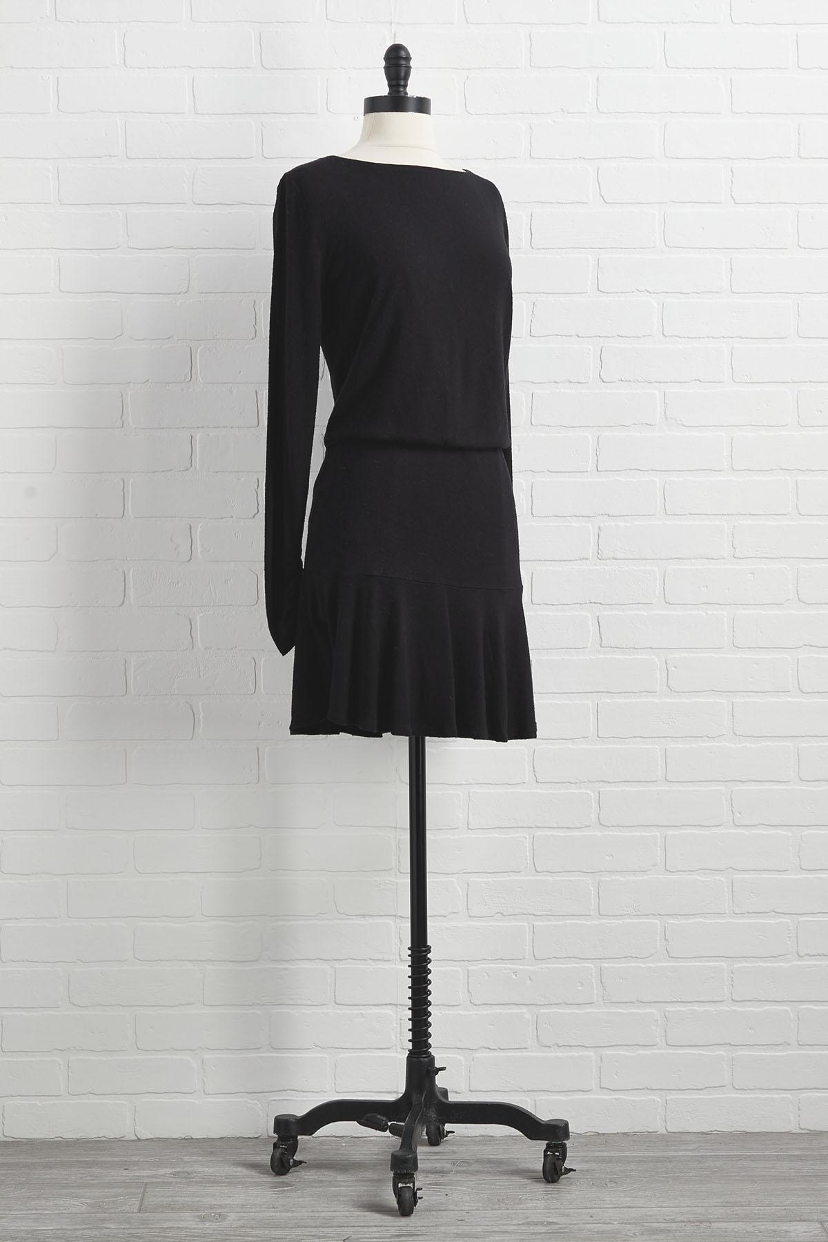Always A Classic Black Dress