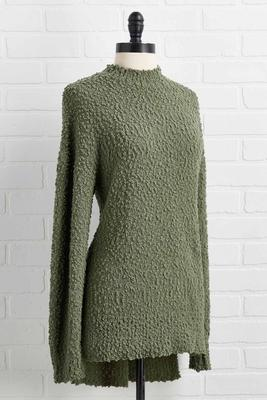 it`s a moss up sweater