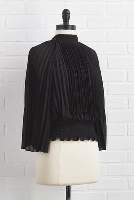 girl code pleated top