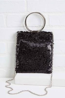 put a ring handle on it handbag