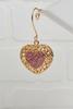 Pink Heart Ornament