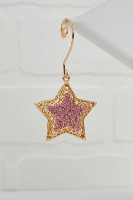 sparkle star ornament