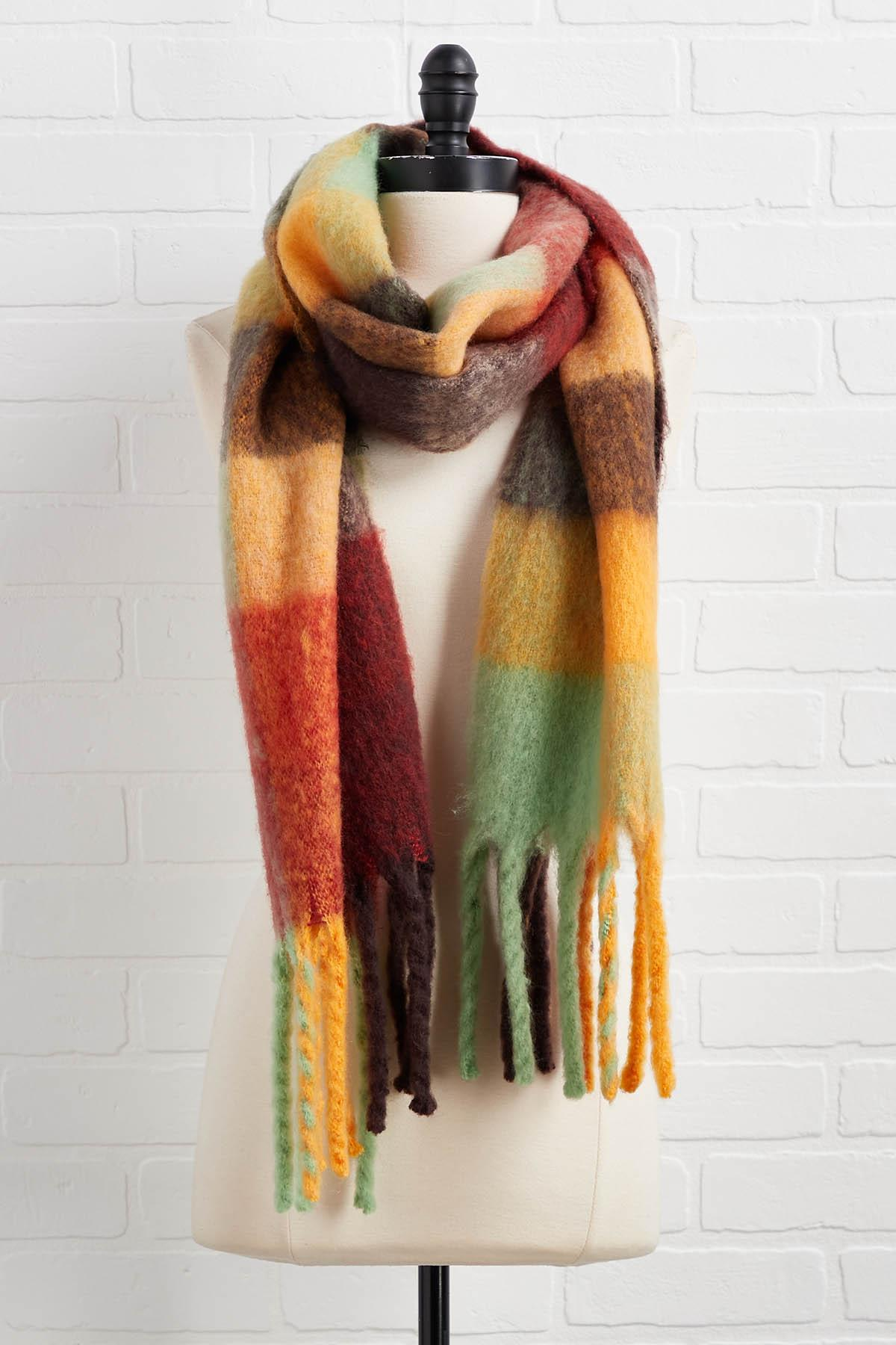 Warm And Spicy Scarf