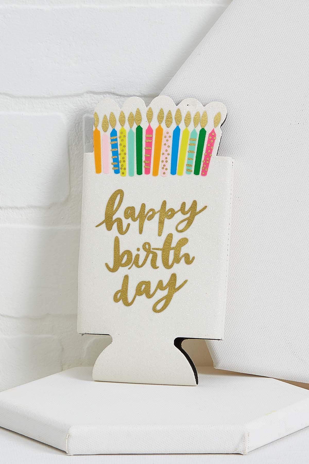 Birthday Skinny Can Holder