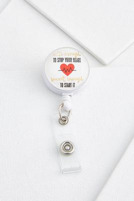 cute enough badge reel