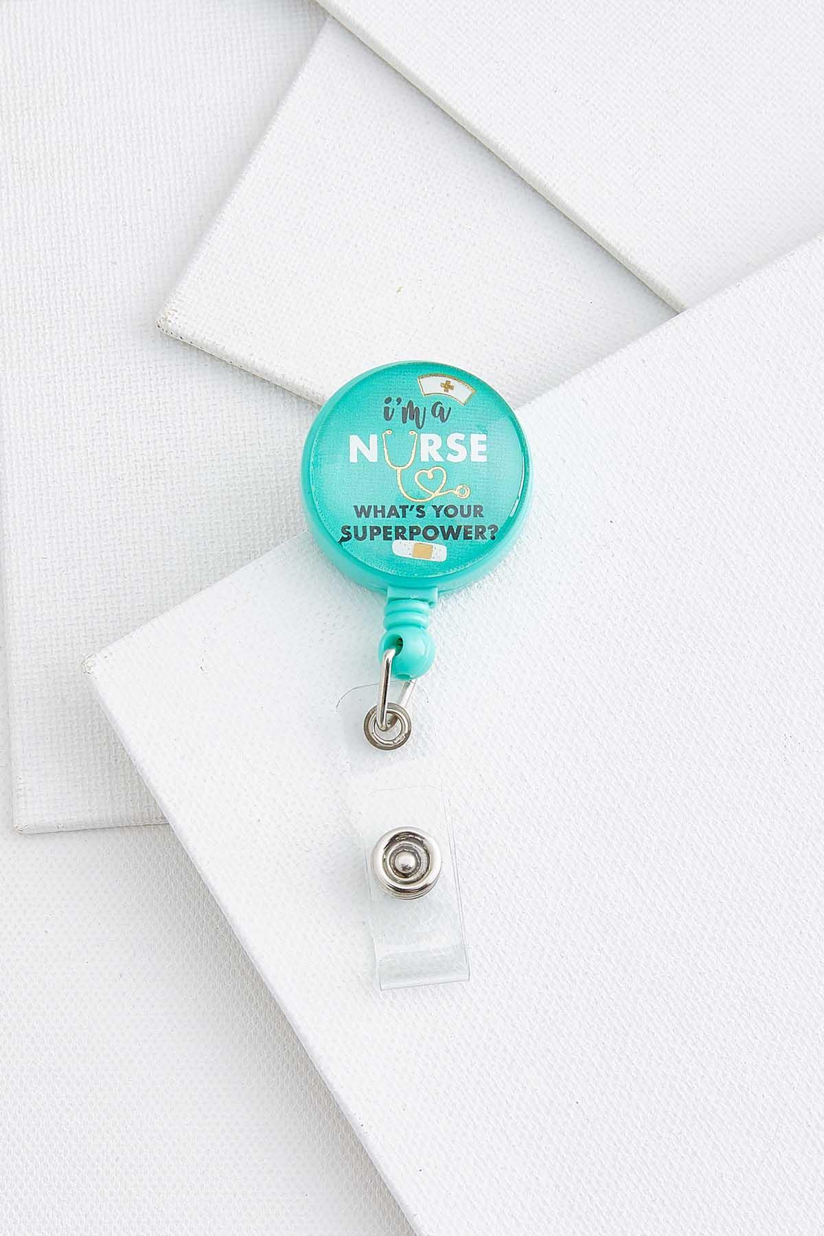 Super Nurse Badge Reel