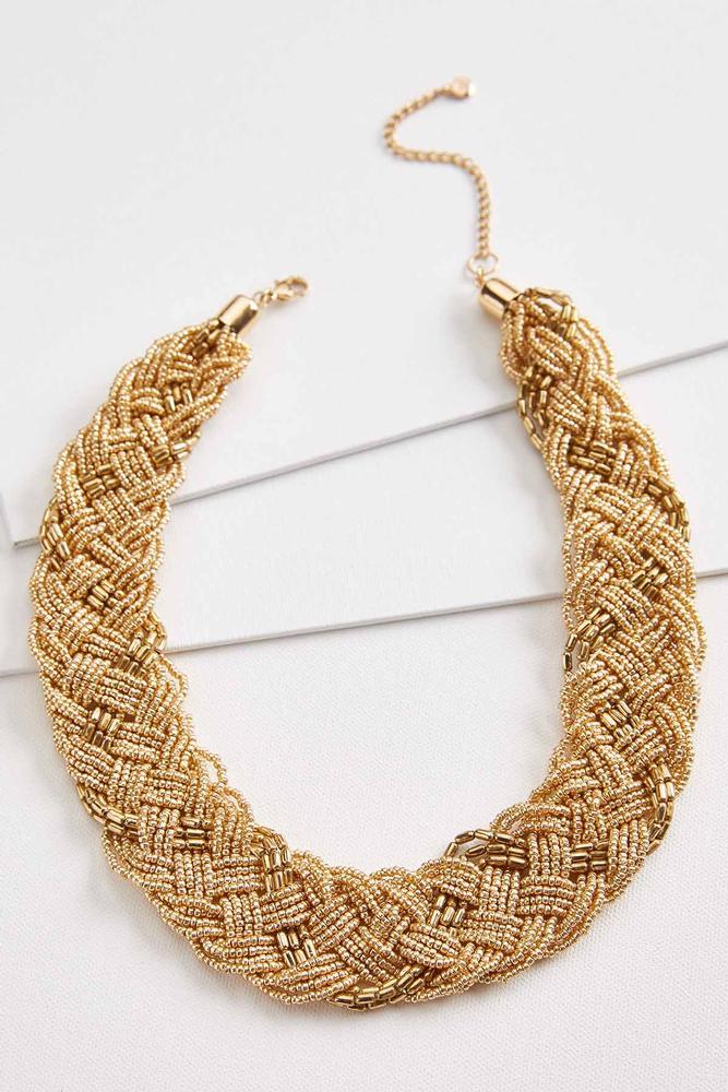 Braided Bib Necklace