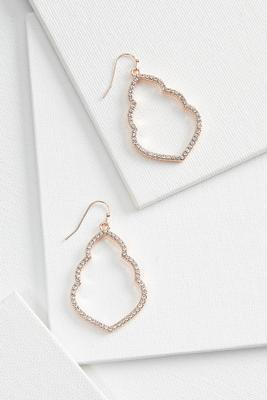 pave stone moroccan earrings