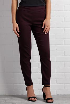 down it merlot pants