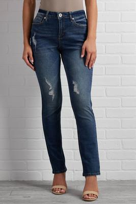 set the story straight leg jeans