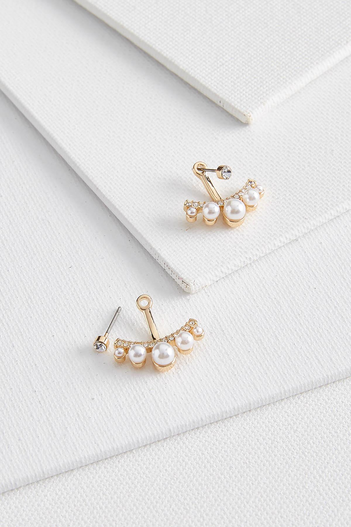 Fancy Pearl Earrings