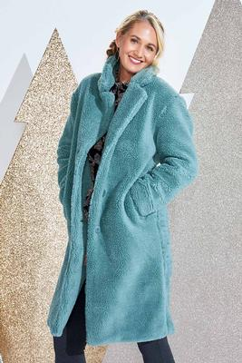 mint fur you coat