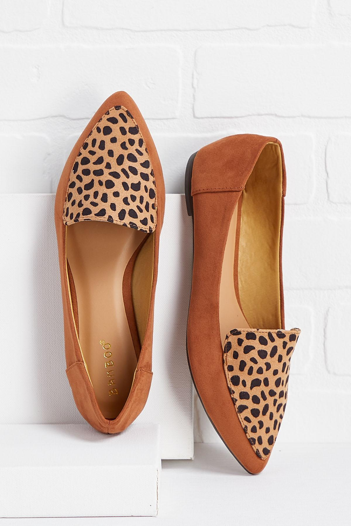 Get To The Pointed Toe Flats