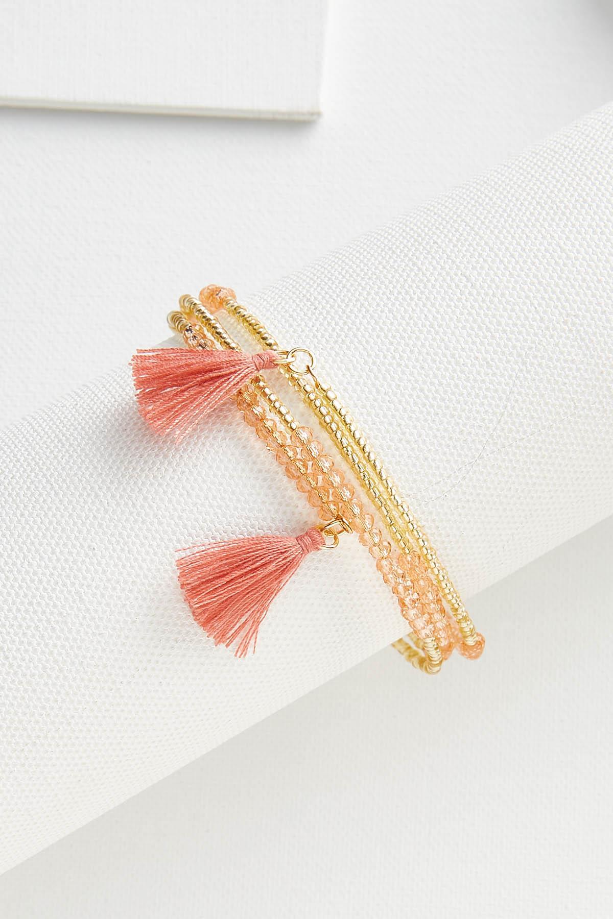 Tassel Coil Bracelet