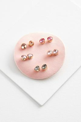 oversized stud earring set