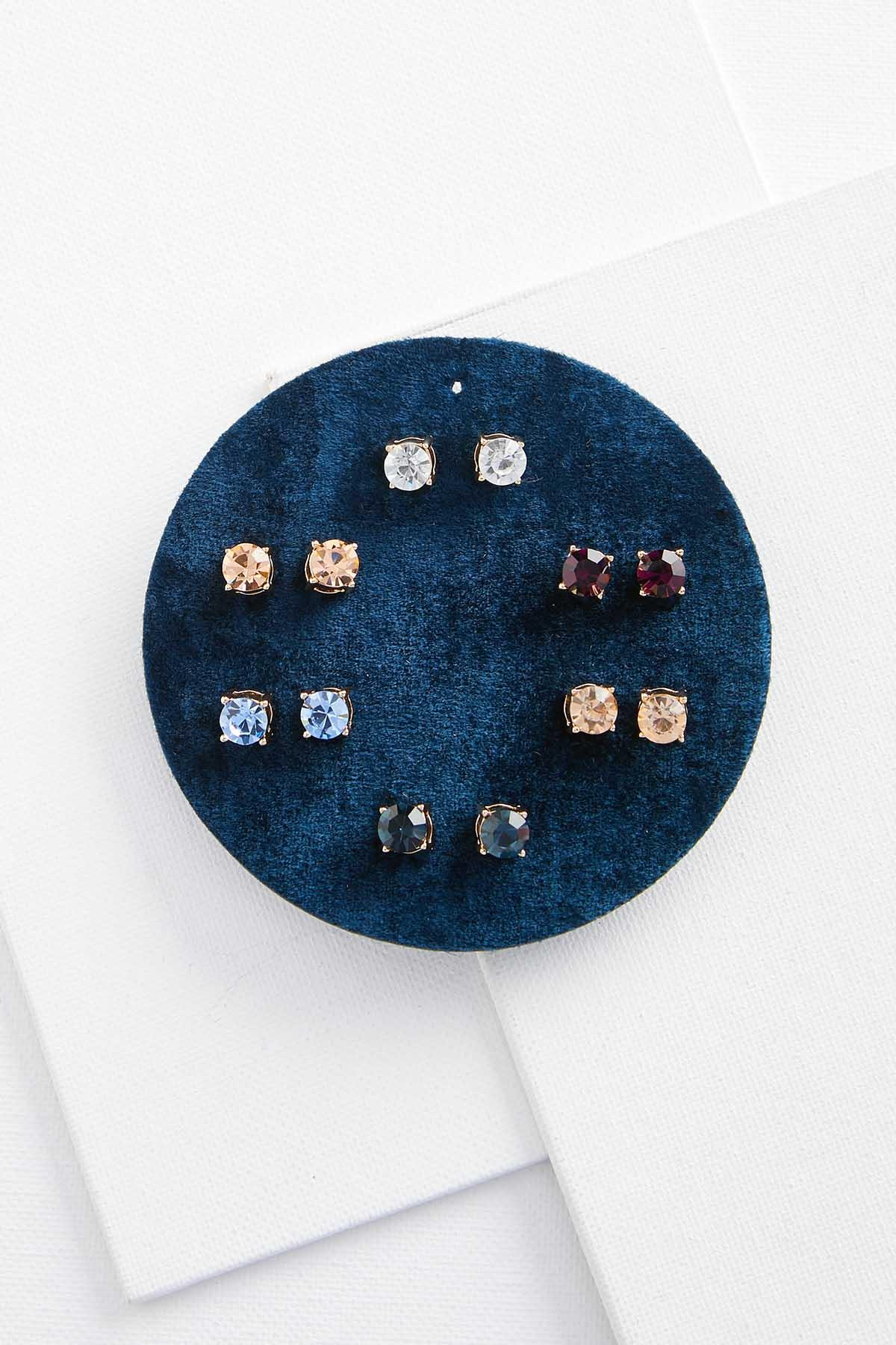 Colorful Stone Earring Set