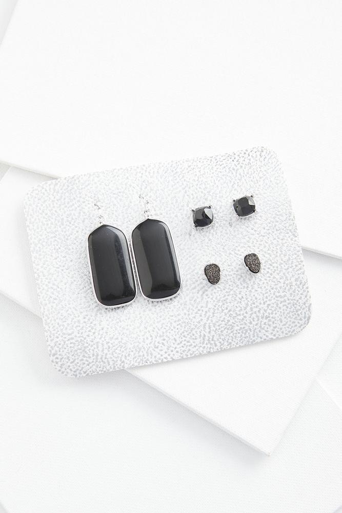 Stunning Stone Earring Set