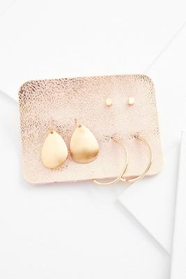 mixed mod earring set