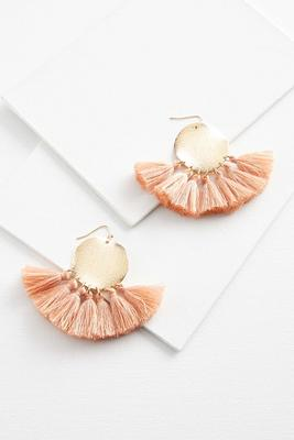 fringe upon earrings