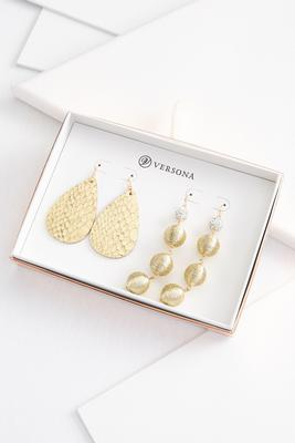 glam gold jewelry gift set