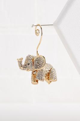elegant elephant ornament