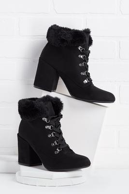 ready fur winter booties