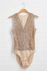 Head To Rose Gold Bodysuit